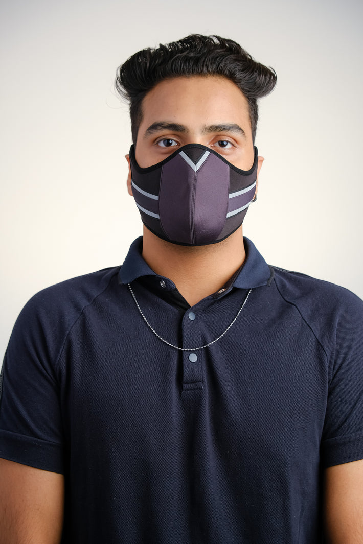 BERT Vertical Stretch (Dark Grey) UniBERT Mask (Male)