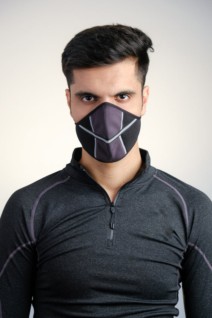 BERT Stark (Dark Grey) UniBERT Mask (Unisex)
