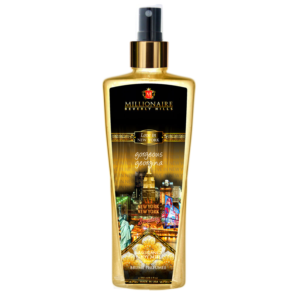 Millionaire Love In New York Gorgeous Geogina Fragrance Body Mist 250 ml