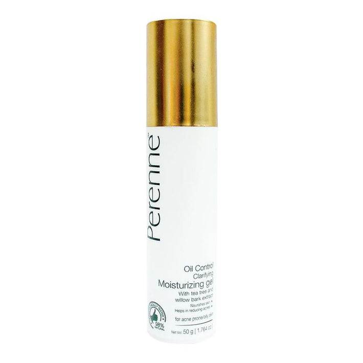 Perenne Clarifying Oil Control Moisturiser Gel for Flawless and Hydrated Skin (For Oily and Acne Prone Skin) ( 50gms )