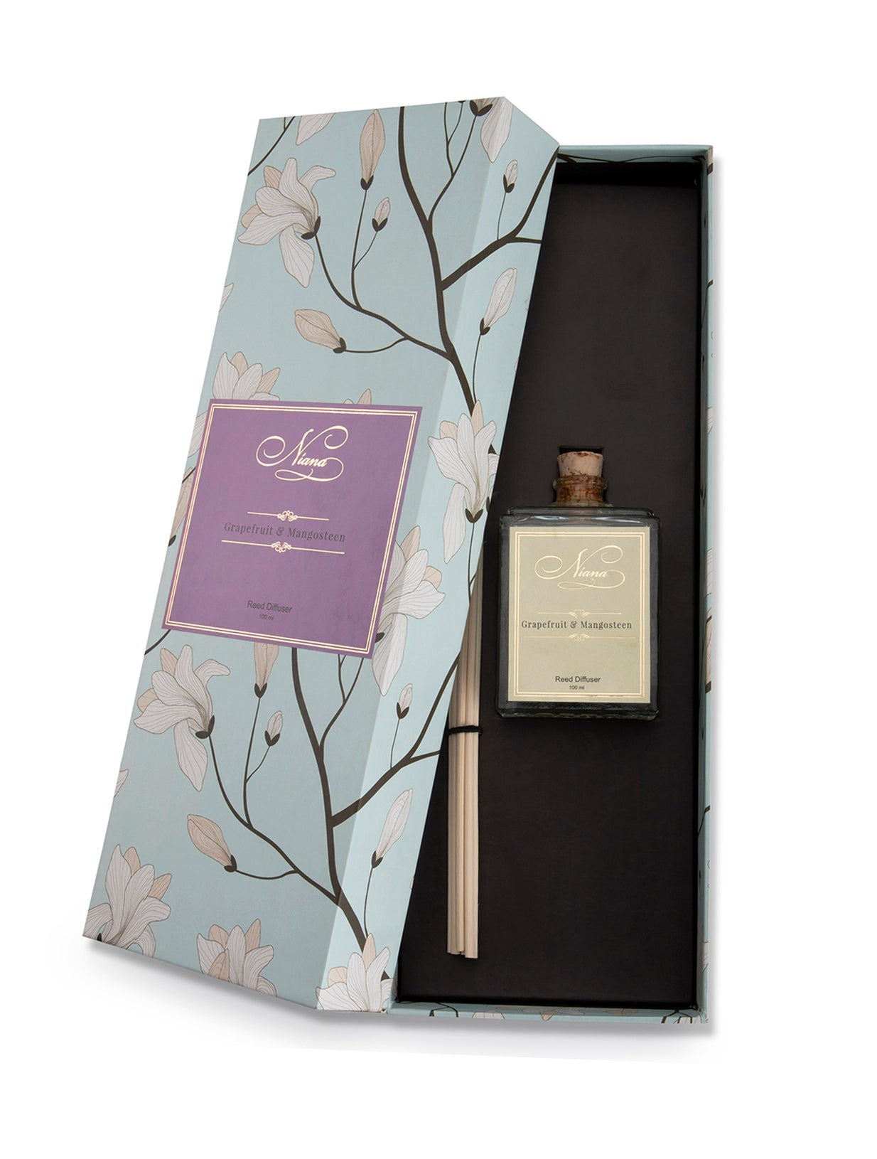 Niana Grapefruit and Mangosteen Reed Diffuser 100ml