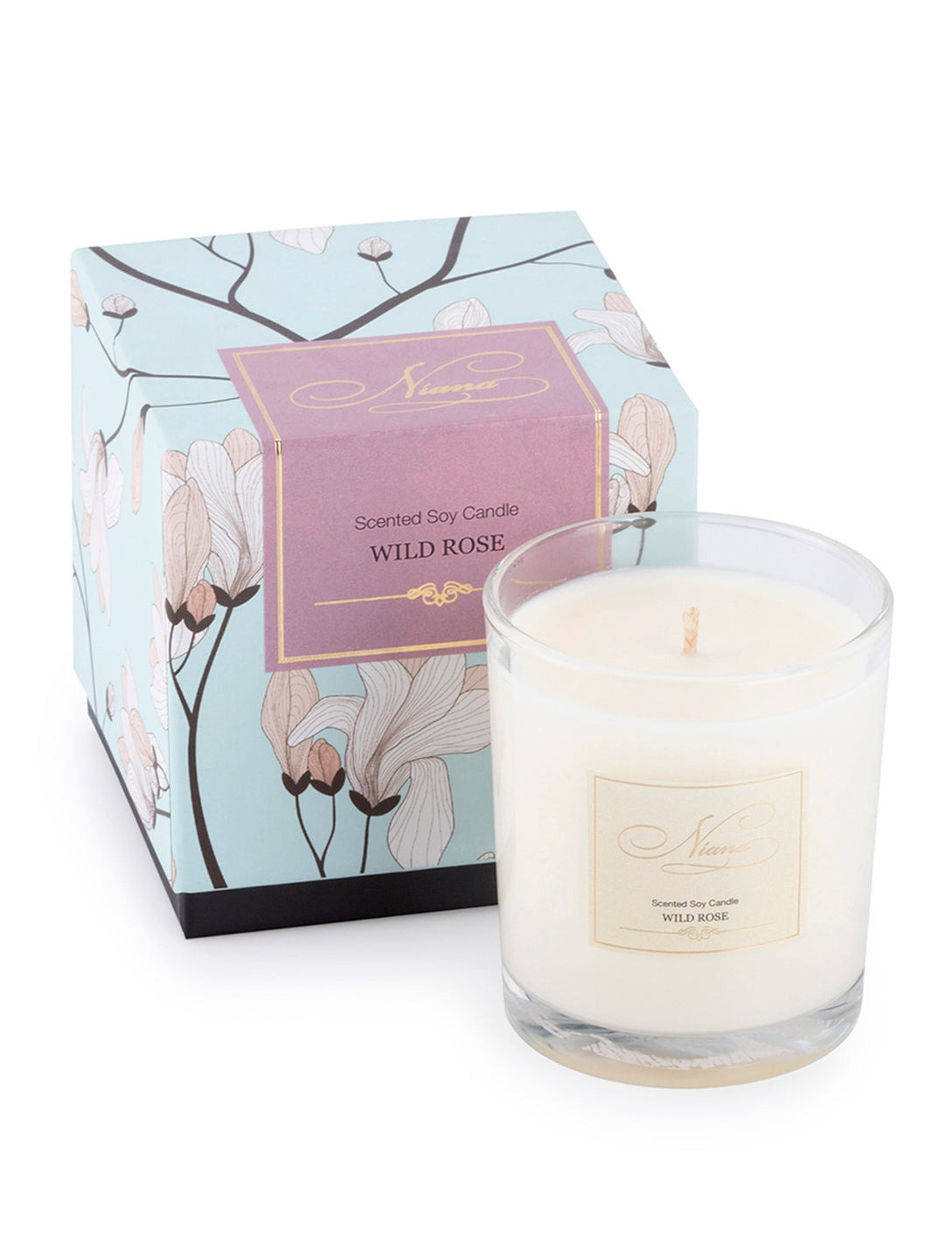Niana Wild Rose Candle 165g