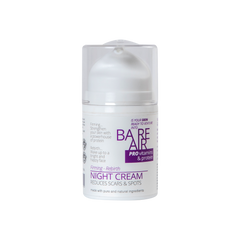 BareAir Night Cream With Hyaluronic Acid, Protien & Vitamins 50 ML