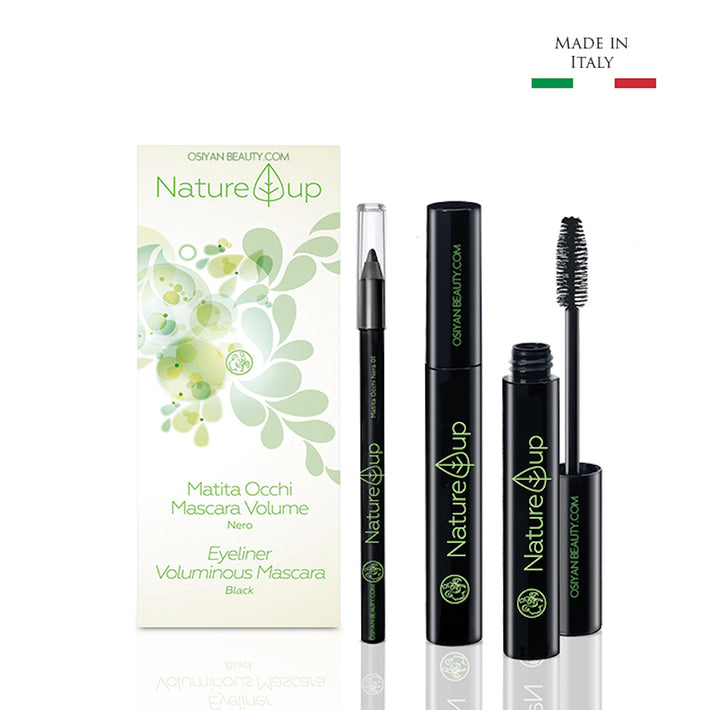 Bema Nature Up Black Mascara 10ml + Eyeliner 3ml