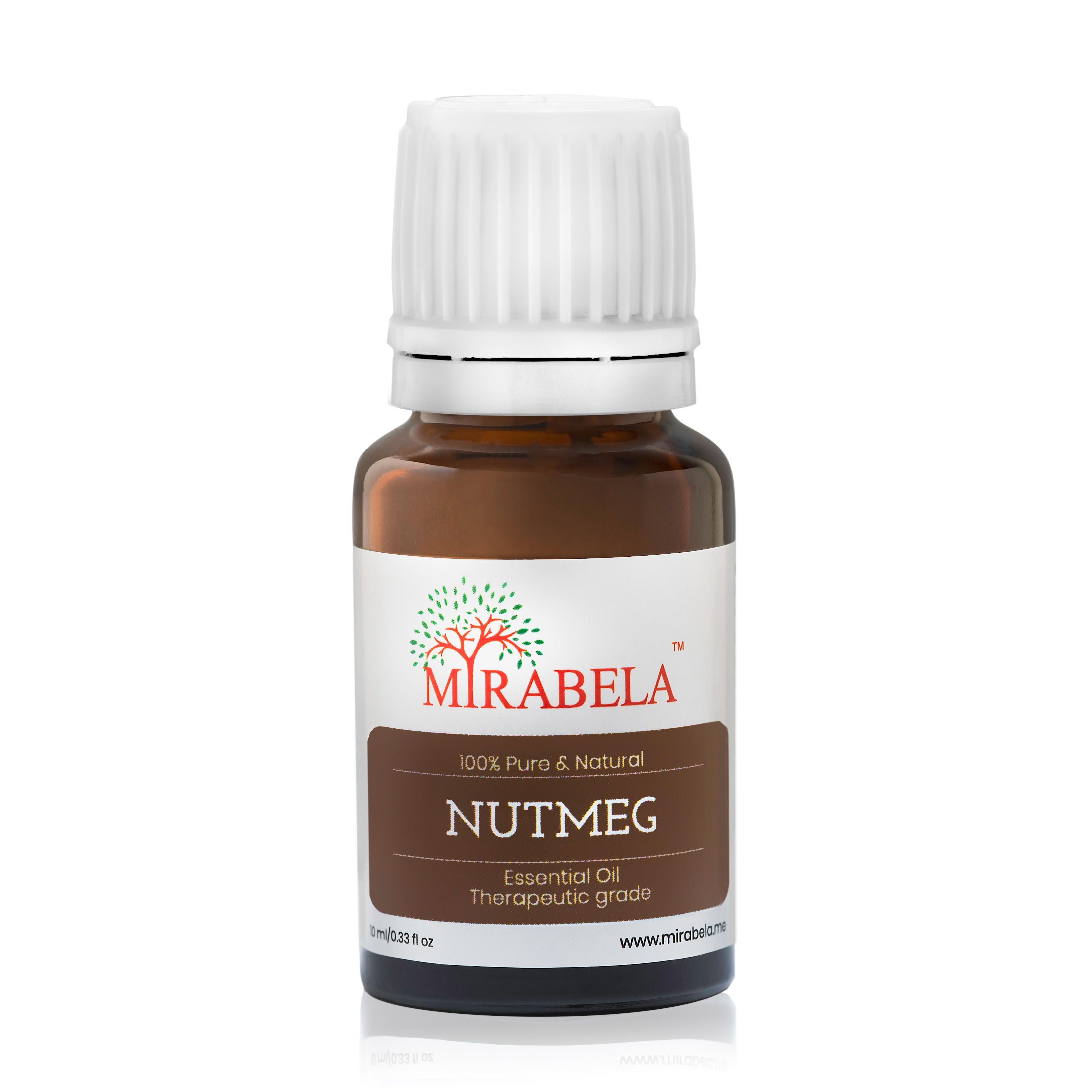 Mirabela Nutmeg Essential Oil 10ml