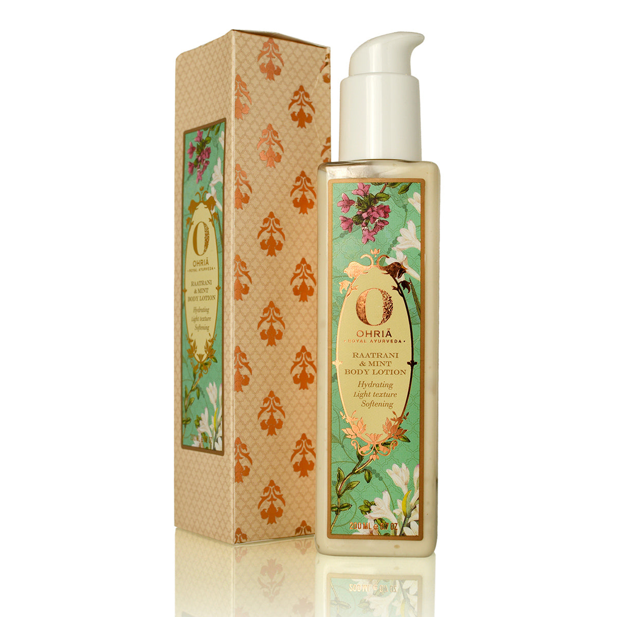 Ohria Ayurveda Raatrani & Mint Body Lotion 200ml