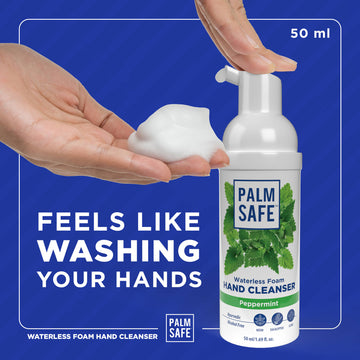 Palm Safe Palm Safe Waterless Foam Hand Cleanser 50ml