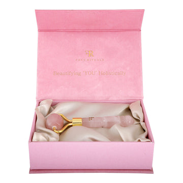 Face Rituals Rose Quartz Mini Roller