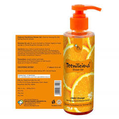 Teenilicious Orange Unisex Shower Gel 200ml