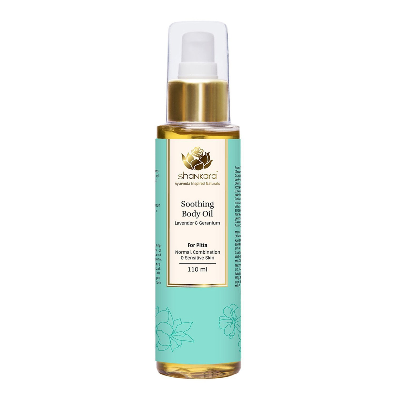 Shankara Soothing Body Oil 110ml