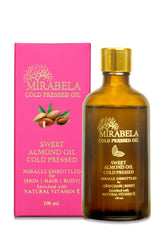 Mirabela Sweet Almond Oil Coldpressed Oil (Woodpressed) 100ml