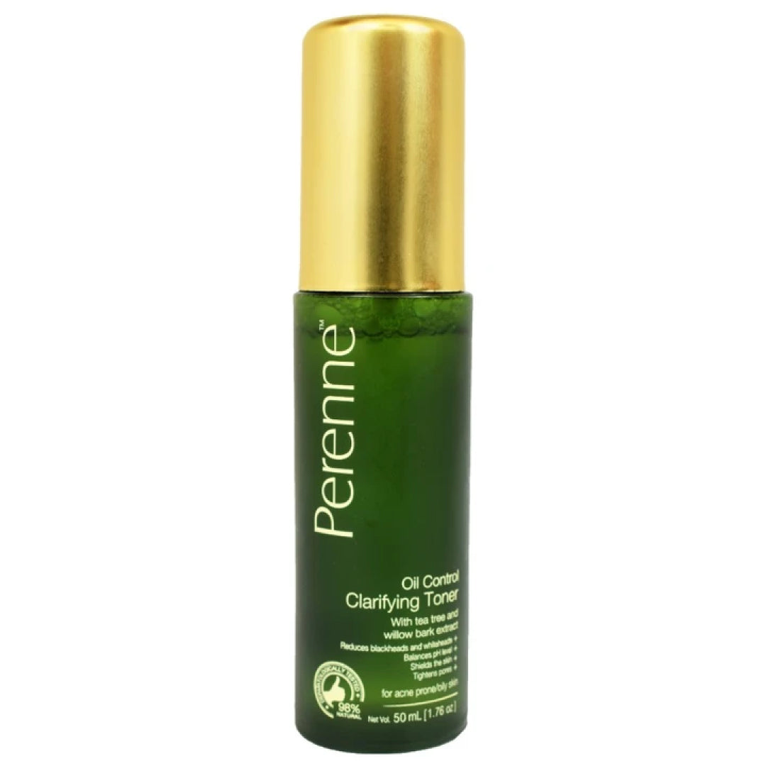 Perenne Clarifying Oil Control Toner 50ml (For Oily and Acne Prone Skin)