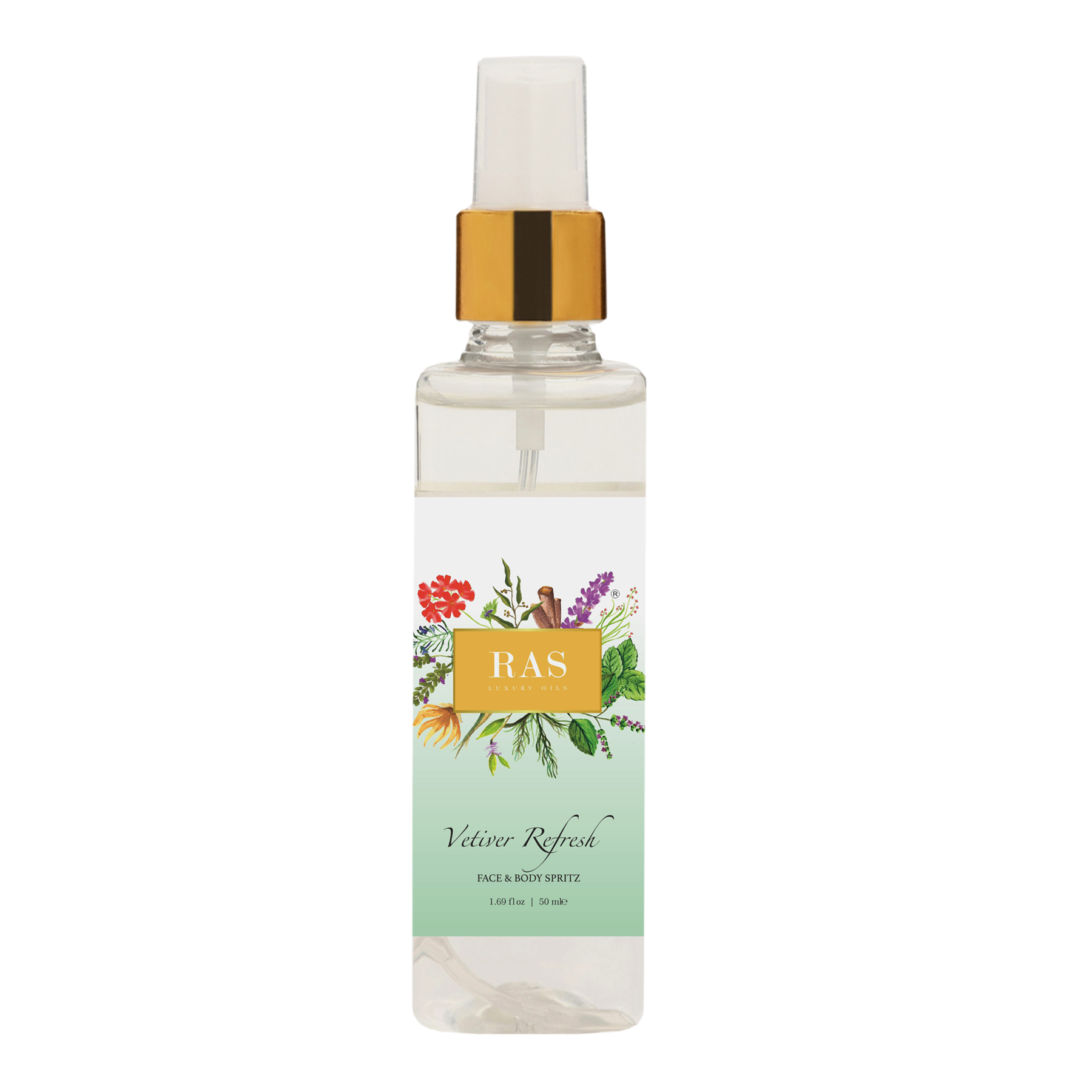 Ras Luxury Oils Vetiver Refresh Face Mist 50ml