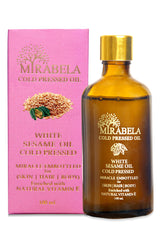 Mirabela White Sesame Oil Coldpressed Oil (Woodpressed) 100ml