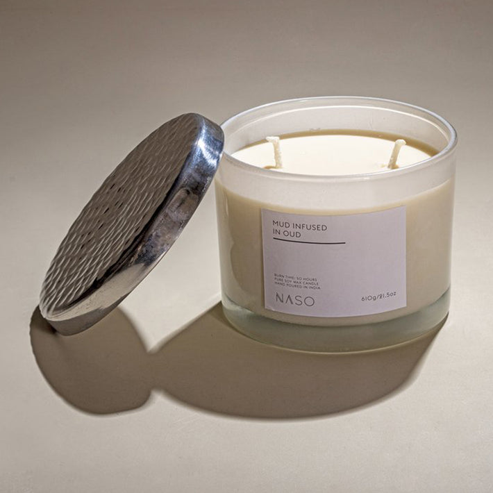Naso Profumi Mud infused in Oud (Candle) 610g