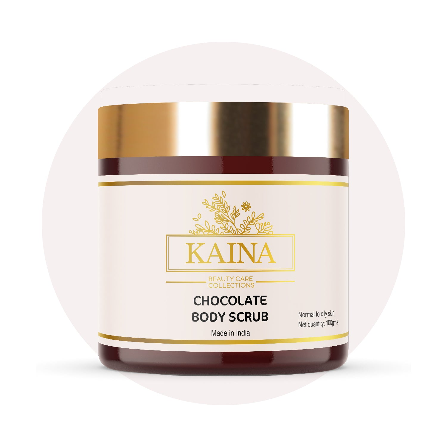 Kaina Skincare Chocolate Body Scrub 100g | Pigmentation & Dark spots Reduction 100g