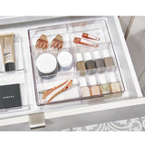 The home edit make-up organizer voor lade (uitschuifbaar)