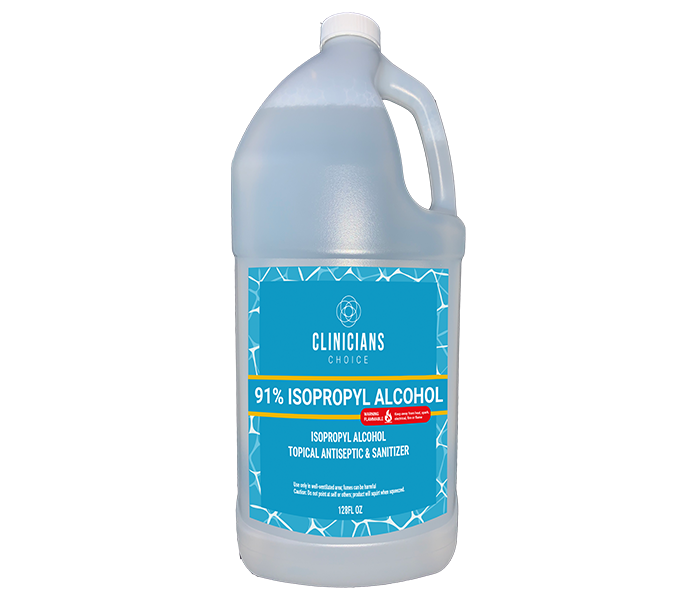 1 GALLON 91% ISOPROPYL ALCOHOL