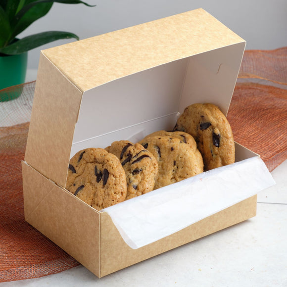 Dark Chocolate Craft Cookie Box