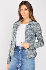 REVERSIBLE CAMOUFLAGE DENIM JACKET