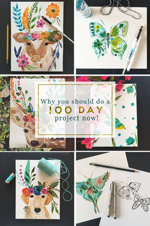 Why You Should Do A 100 Day Project Now