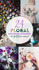 24 Floral Instagram Accounts to Follow Now