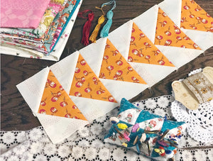 Anthologie - a boho patchwork quilt - Pattern 3: Flying Geese