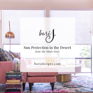 Beautiful Sun Protection in the Desert from The Shade Store