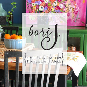 Simple Styling Tips from the Bari J. Abode
