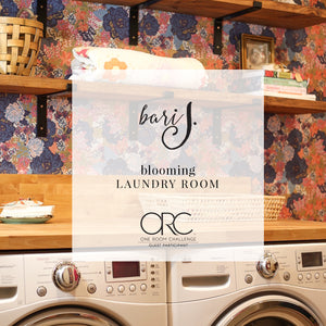 Blooming Laundry Room! Finished!