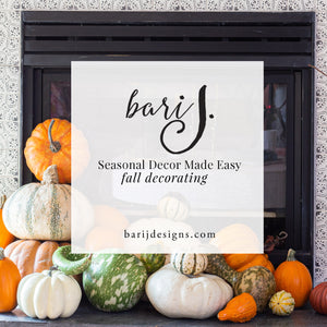 Easy Peasy Fall Decor Styling - Fall Blog Tour