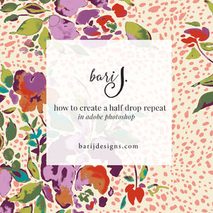 How to Create a Half Drop Repeat in Photoshop