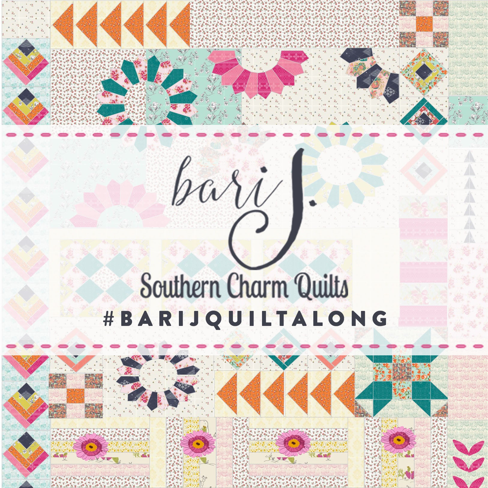 Anthologie - a boho patchwork quilt - Pattern 12: Building Sections + a finished quilt top