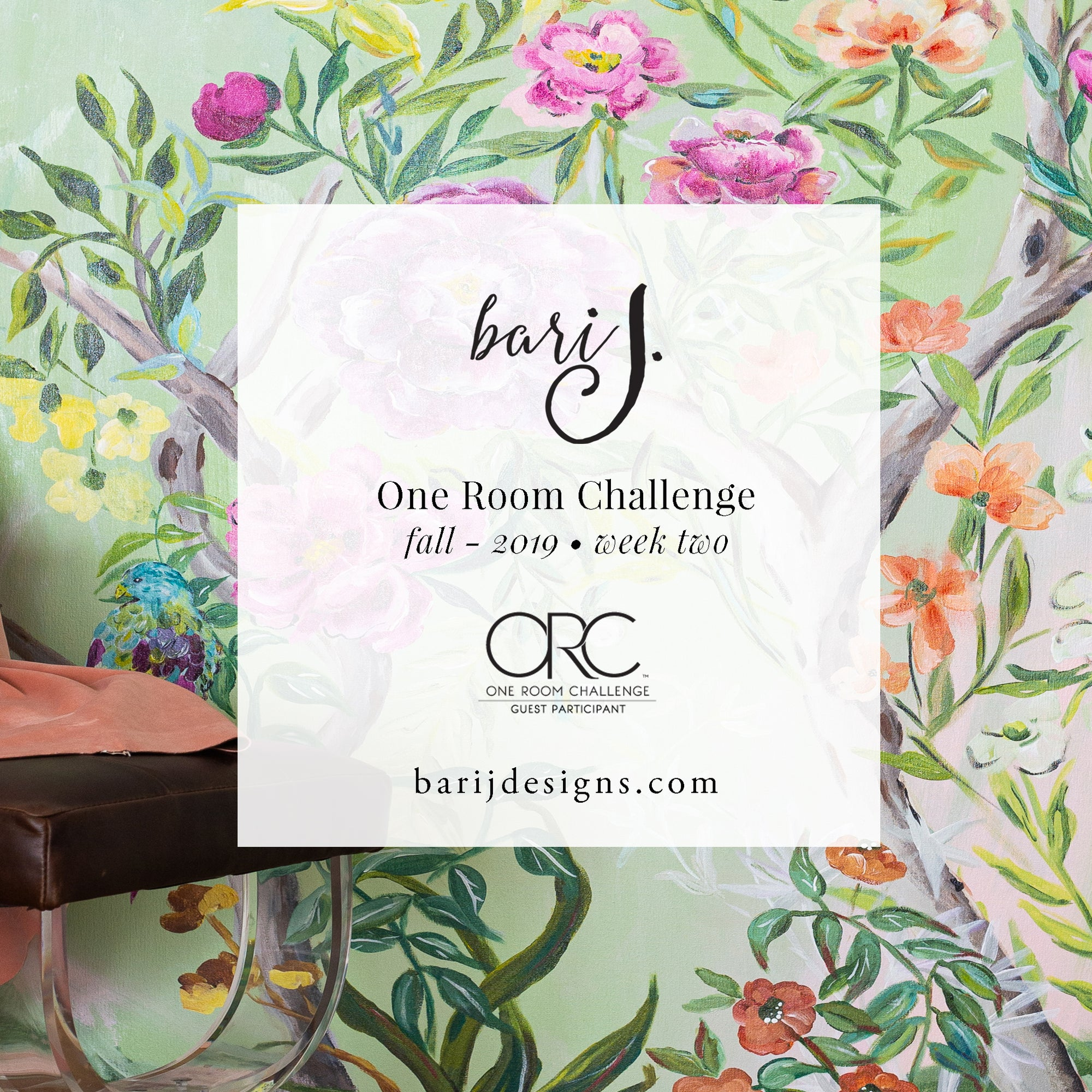 One Room Challenge - Week Two - Modern Maximalist Master Bedroom