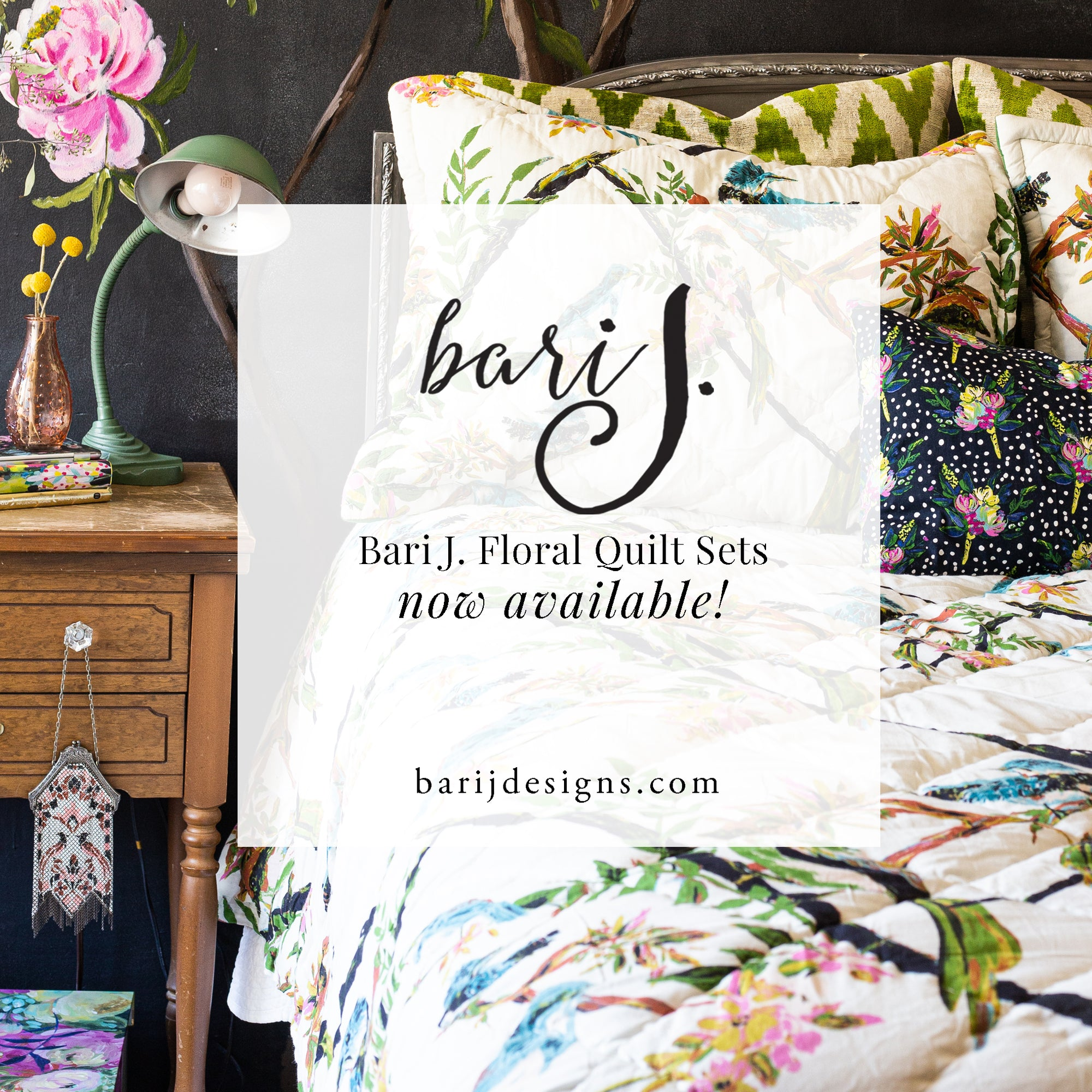 Bari J. Quilts are Now Available