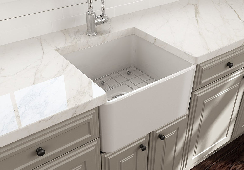 "Bocchi 20"" Farmhouse sink - one room challenge laundry room"