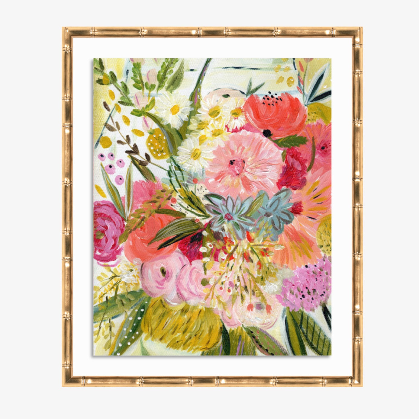 A bouquet for Jeni by Bari J. in Framebridge Lucia Frame