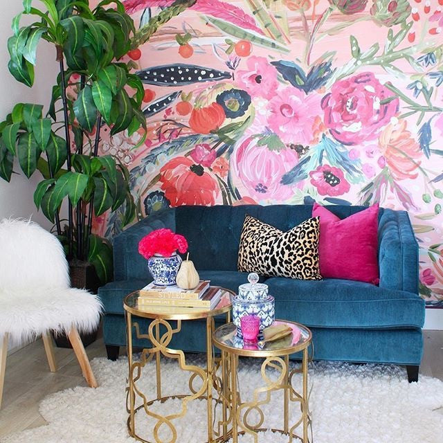 Bari J. For Murals Your Wall via Classy Clutter