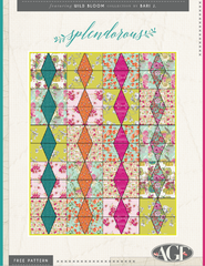 Splendorous Quilt by Wise Craft Quilts for Bari J.