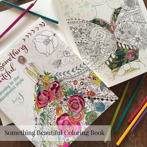 Something Beautiful Coloring Book