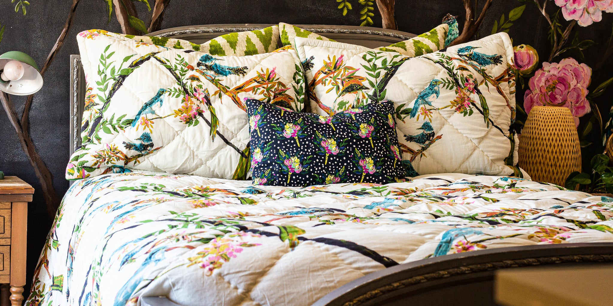 Bari J. quilt set for Maker's Collective