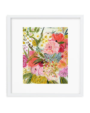 A Bouquet for Jeni • Art Print