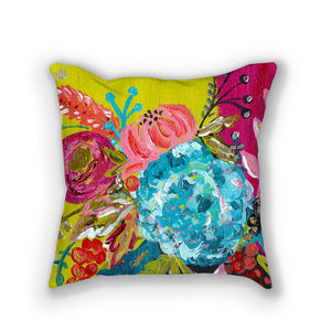Bouquet Two // Stunning floral pillows by Bari J. // Home Decor // Interior Design // Click here to purchase.