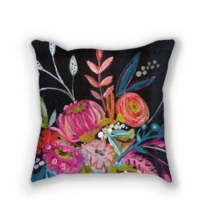 Bouquet Three // Stunning floral pillows by Bari J. // Home Decor // Interior Design // Click here to purchase.