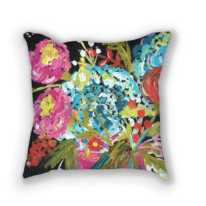 Bouquet Four // Stunning floral pillows by Bari J. // Home Decor // Interior Design // Click here to purchase.