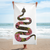 Consider Yourself Warned • Snake • Beach Towel