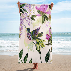 hummingbird • Beach Towel