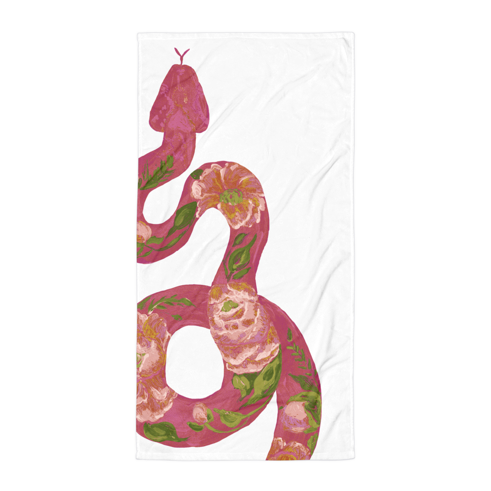 Step Up • Snake • Beach Towel