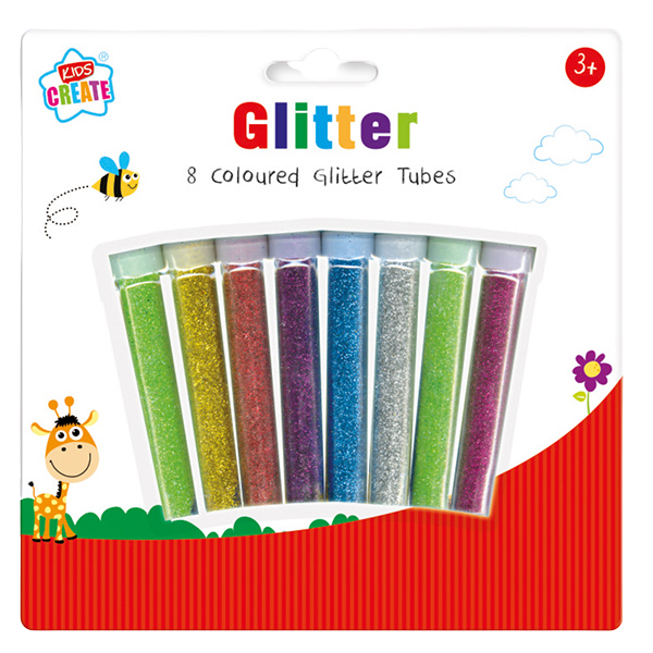 Is your child into arts & crafts? Then he/she will love this glitter pack, with 8 different colours to choose from, they will be able to create all different kinds of glittery art work, great for a rainy day activity.