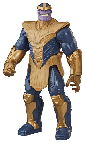 DLX Thanos Action figure brought to you by Hasbro, inspired by Marvel Comics, will be igniting children's imaginations with this classic Avengers action hero, the evil warlord Thanos will stop at nothing to spread his reign of tyranny across the entire universe.